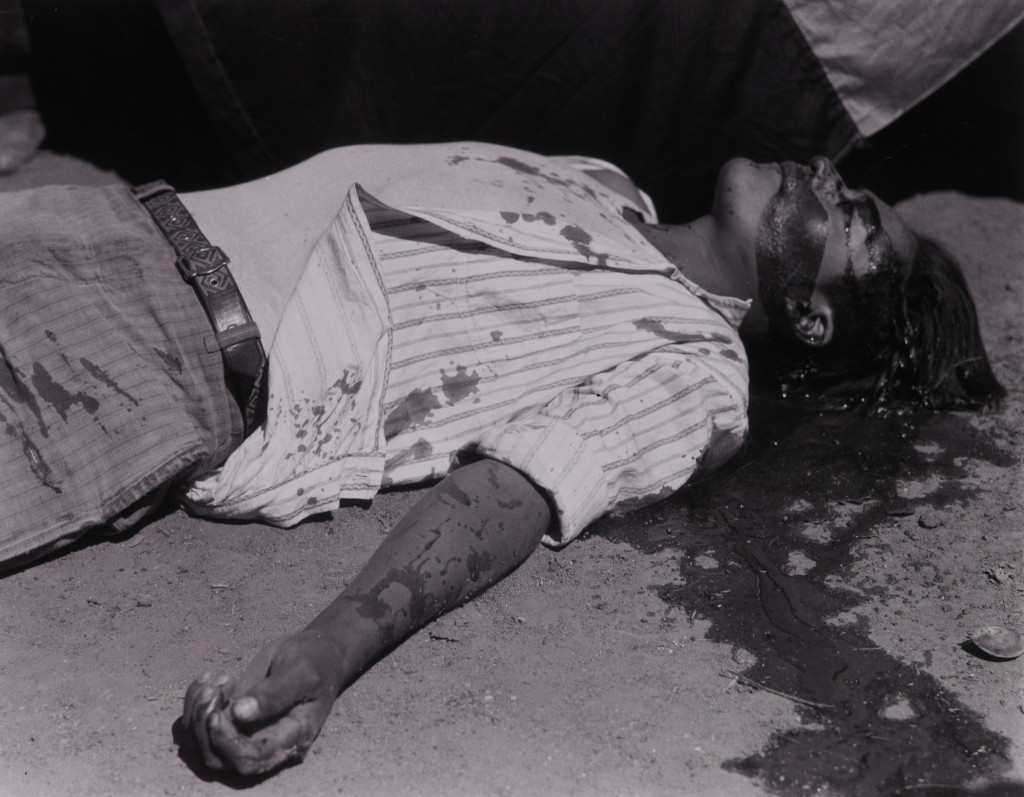 Obrero en huelga Asesinado