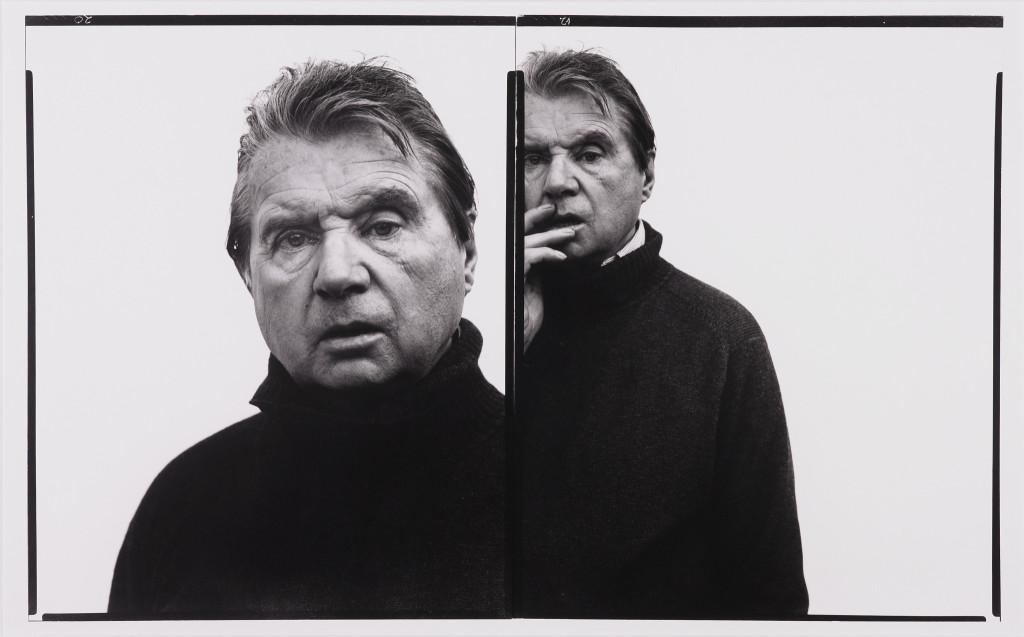 Portrait of Francis Bacon, artist, Paris, 4 novembre 1979