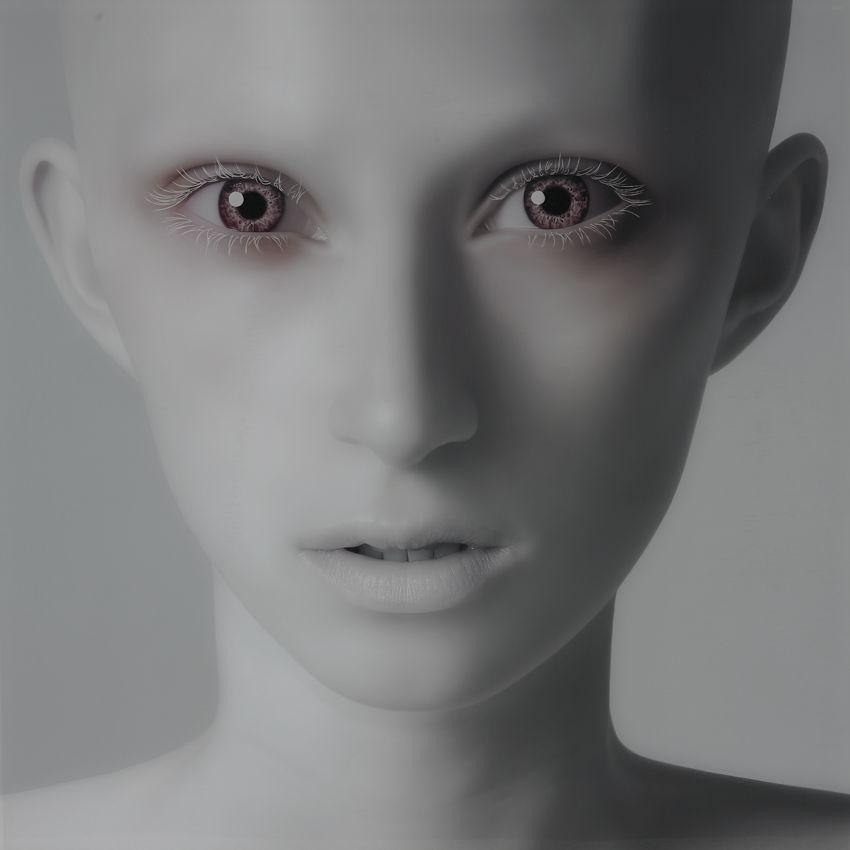 Albino' (série Naked Faces)