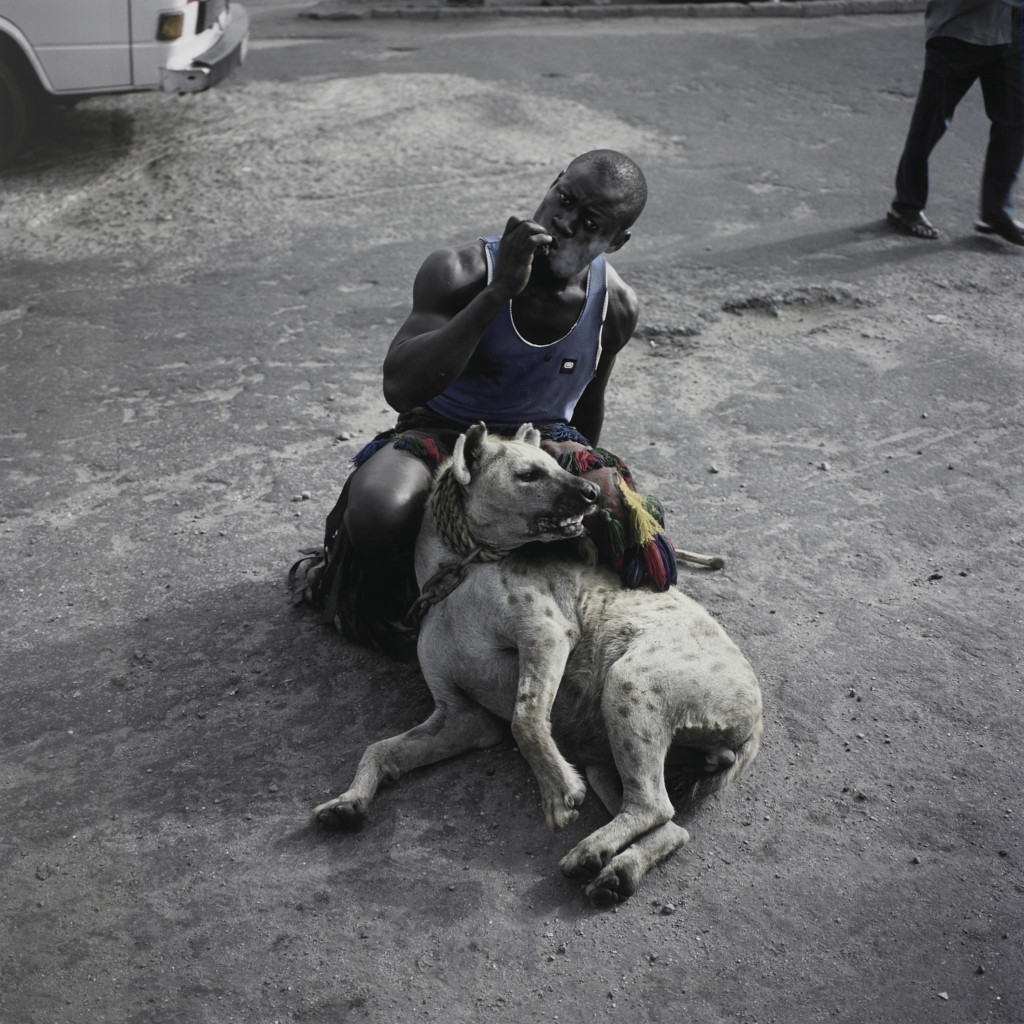 Abdullahi Mohammed with Mainasara, Lagos, Nigeria' (Gadawan Kura – The Hyena Men)