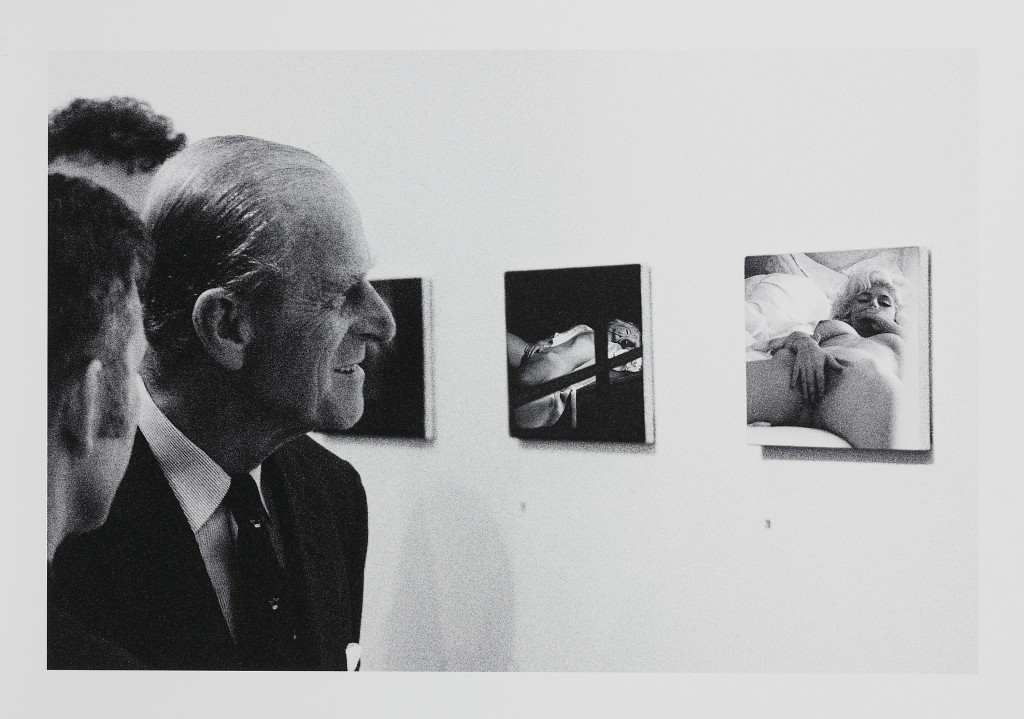 Prince Philip at the Art Gallery