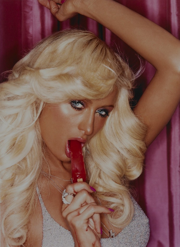Paris Hilton Popsicle