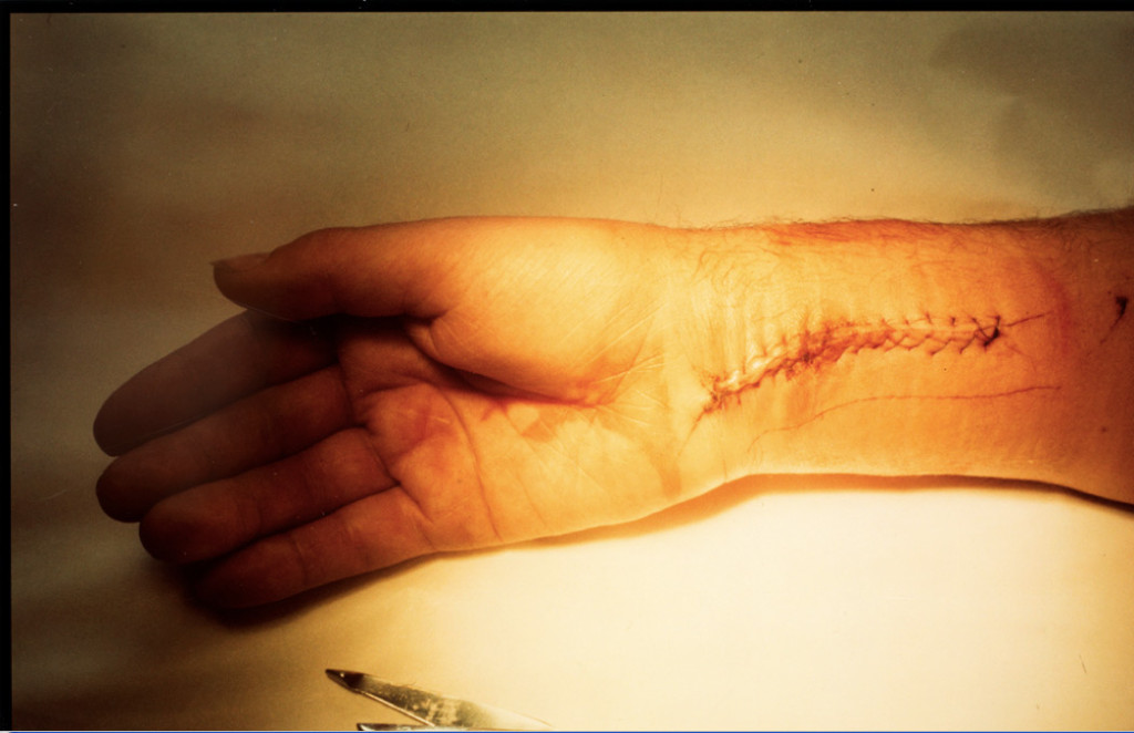Mick Jagger's hand, Southampton, Long Island