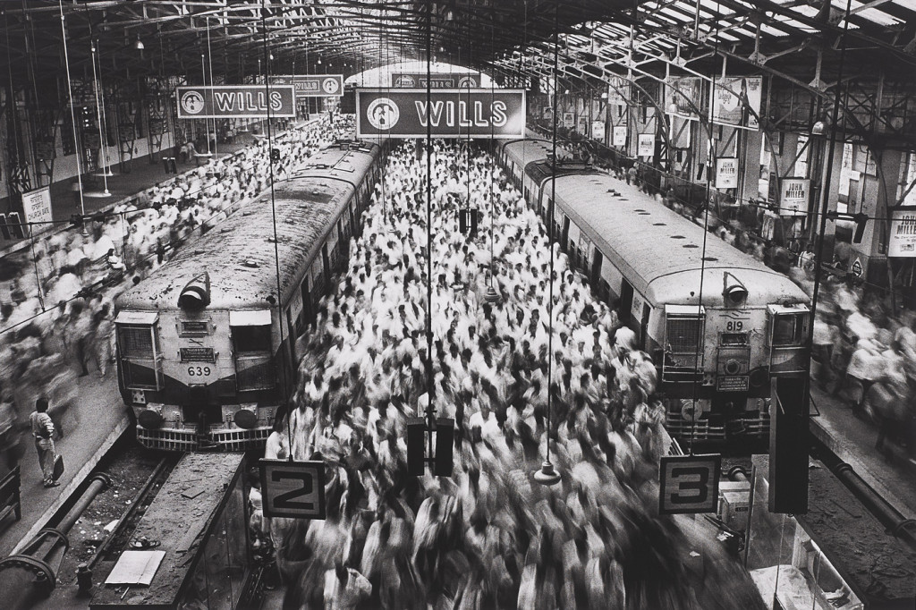 India, Churchgate Station, Bombay' (Western Railroad Line)