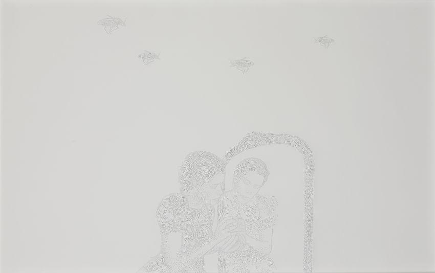 Sans titre H-0018-G (série El Error)