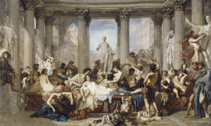 Thomas Couture, Les Romains de la Décadence, 1847, Orsay