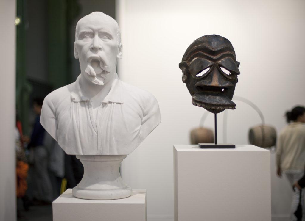 Gueule cassée, Masque malade' (Broken face, Sick mask)