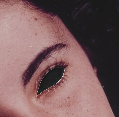 Blind Liz Taylor (Mirror)