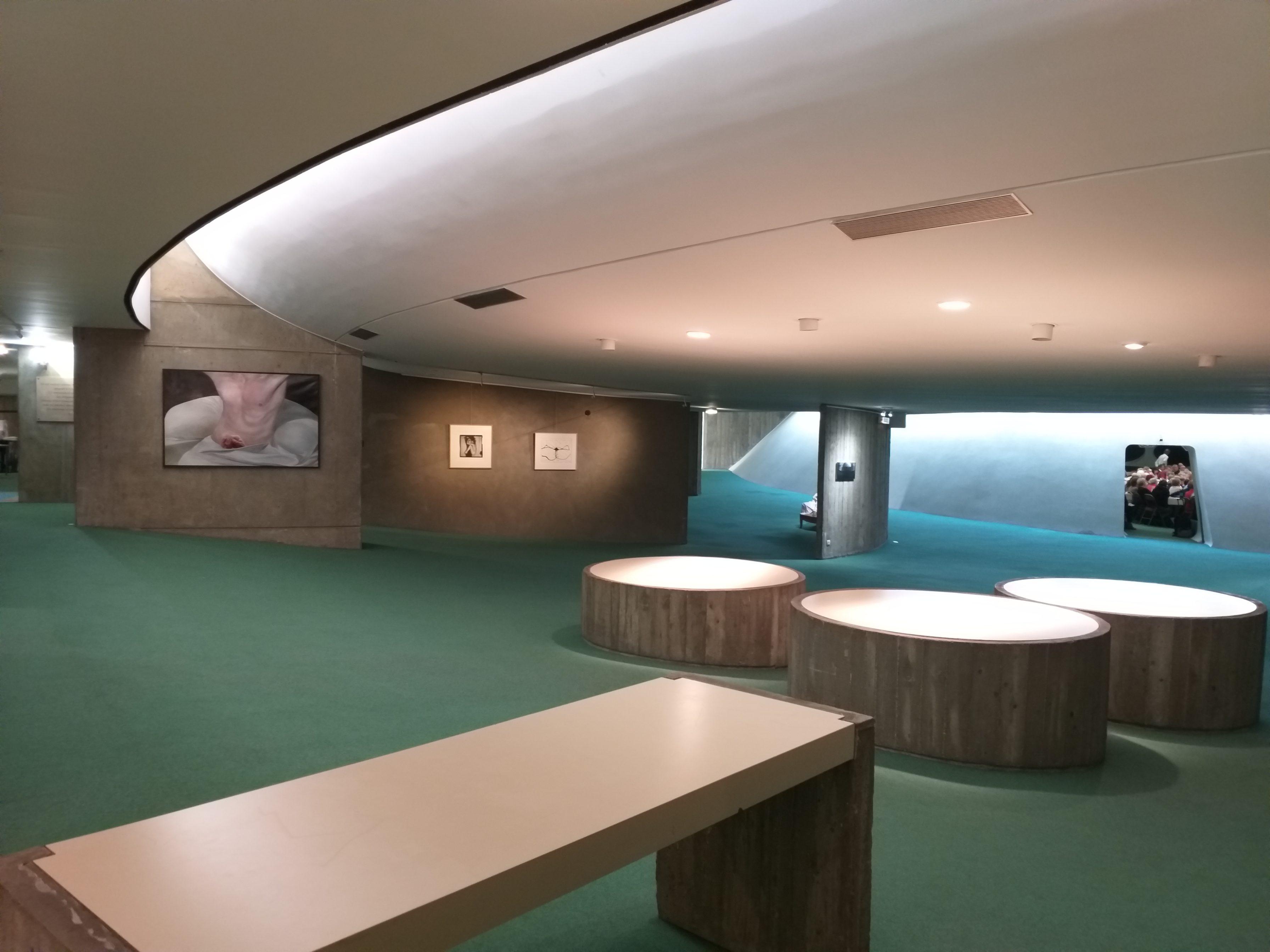 Souffle à l'Espace Niemeyer