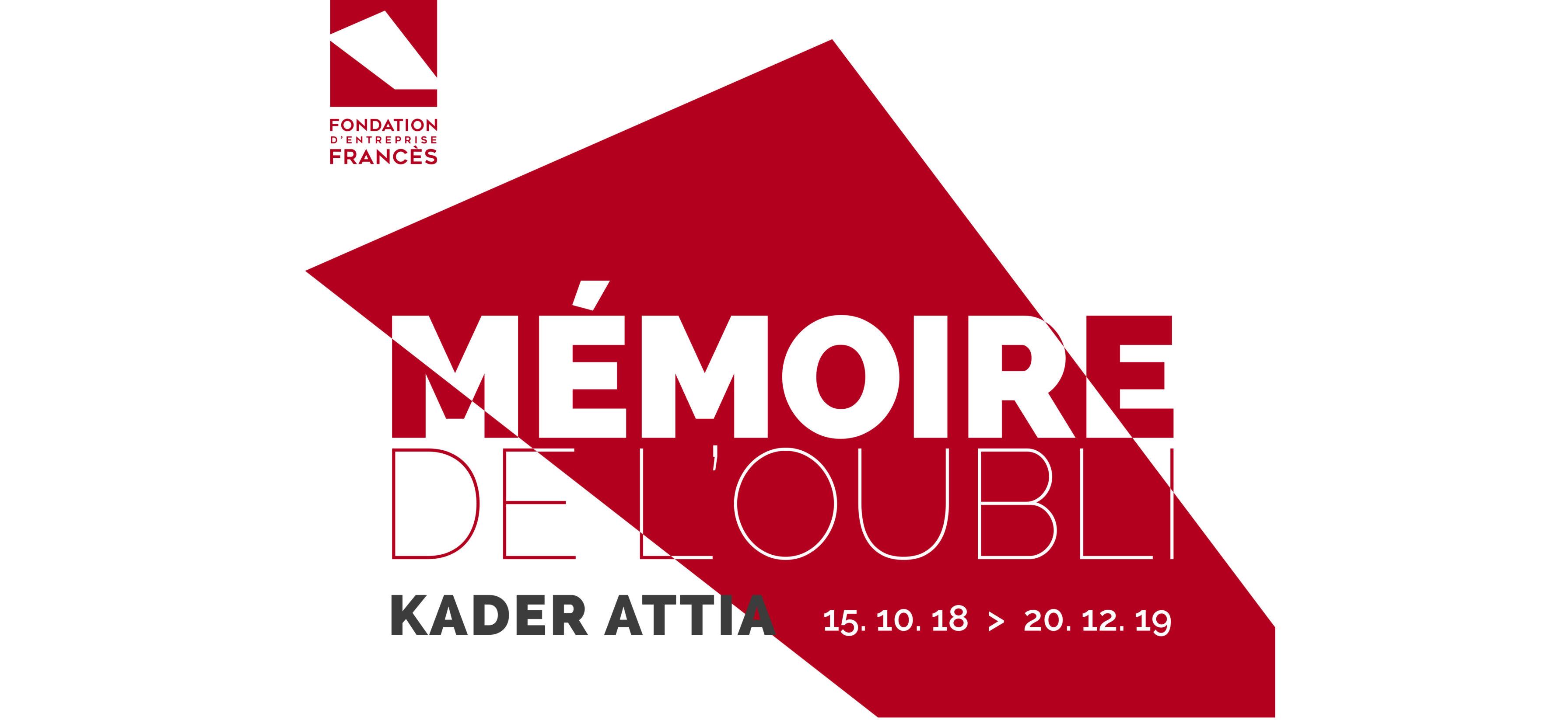 Kader Attia – Mémoire de l'oubli